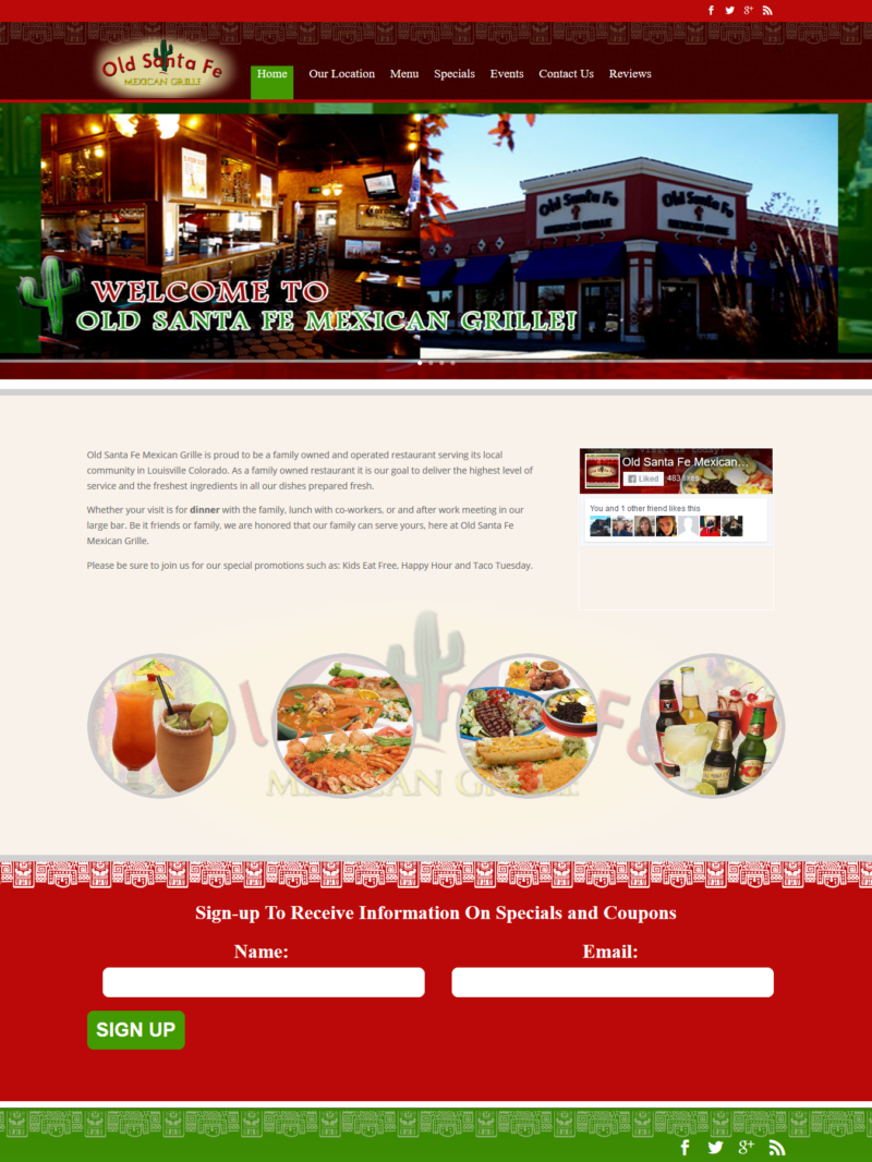 Old Santa Fe Mexican Grille