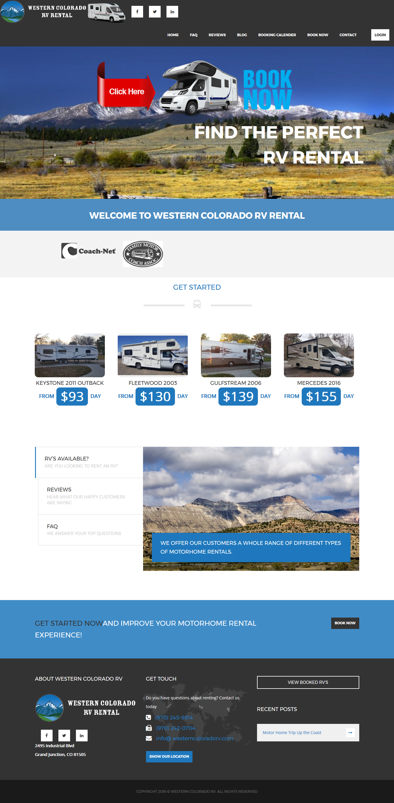Western Colorado Rv Rental