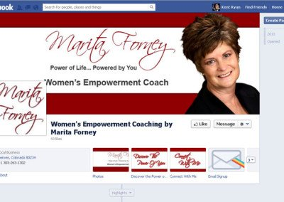 Women's Empowerment Coaching by Marita Forney